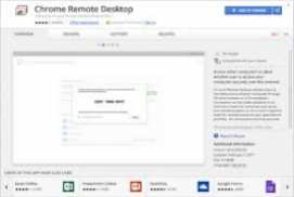 Chrome Remote Desktop 35